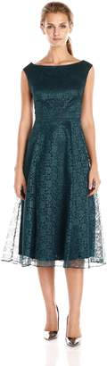 Betsey Johnson Women's Sleeveless Fit/Flare Lace Dress