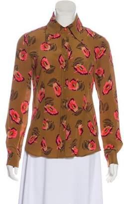 Etro Silk Floral Top
