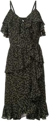 Derek Lam 10 Crosby Ruffled Wrap Dress
