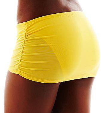 JCPenney Bisou Bisou® Halter Pushup Bra Swim Top or Skirt