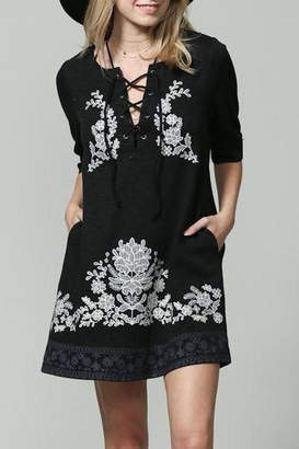 By Together Nisha Embroidered Dress