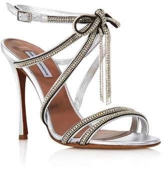 db57855a8ea9 Tabitha Simmons Women s Iceley Rhinestone Bow High-Heel Sandals