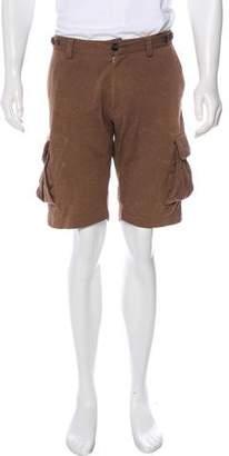 Brunello Cucinelli Drawstring Cargo Shorts