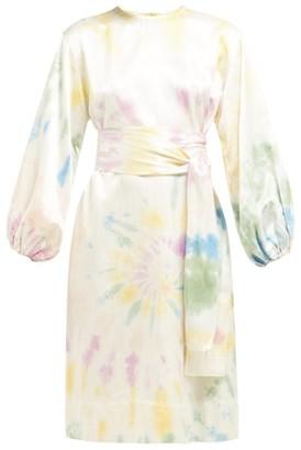 Rhode Resort Athena Cotton Blend Tunic Dress - Womens - Multi