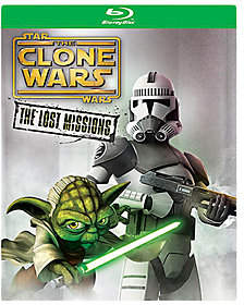 Star Wars: The Clone Wars - The Lost Missions Blu-Ray