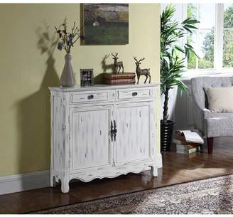 Coaster Company Coaster Accent Cabinet in Distressed White