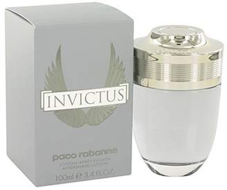Paco Rabanne Invictus by After Shave 3.4 oz for Men by
