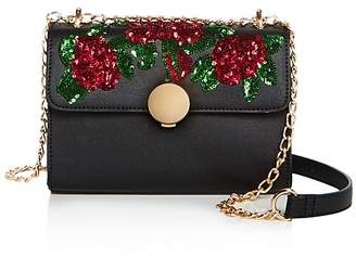 Sunset & Spring Floral Sequin Crossbody - 100% Exclusive