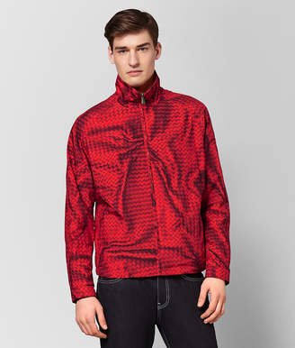 Bottega Veneta CHINA RED POLYESTER JACKET