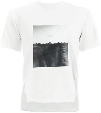 Song For The Mute front printed T-shirt