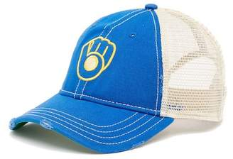 American Needle Milwaukee Brewers Mesh Back Baseball Cap