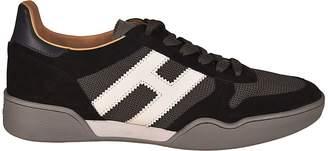 Hogan Paneled Sporty Sneakers