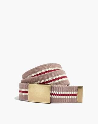 Madewell Webbing Slide Buckle Belt