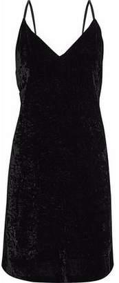 Alice + Olivia Alice+olivia Crushed-Velvet Mini Dress