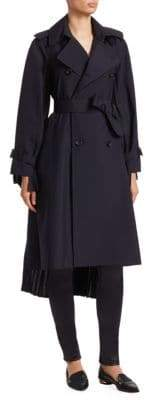 Junya Watanabe Long Pleat Trench Coat