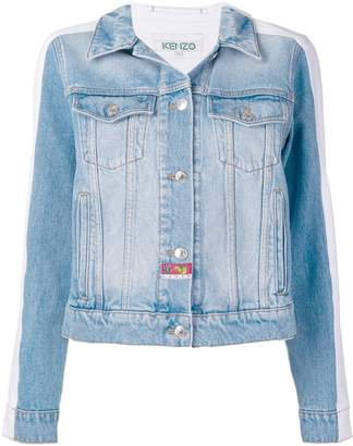 Kenzo bi-colour denim jacket