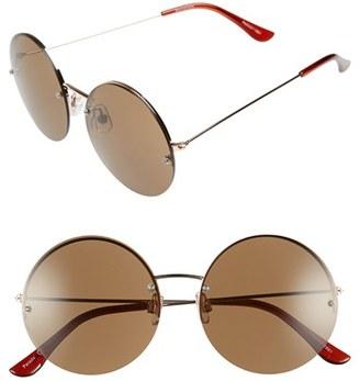 BP. 55mm Rimless Round Sunglasses $12 thestylecure.com