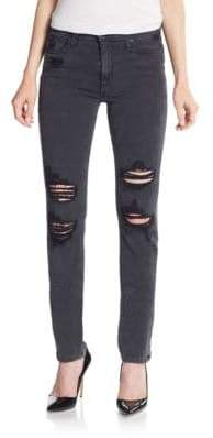 Joe's Jeans Rhea Distressed High-Rise Skinny Jeans
