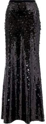 Sachin + Babi Dorthea Sequined Mesh Maxi Skirt