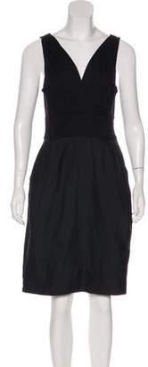DKNY Surplice Neck Knee-Length Dress w/ Tags