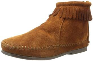 Minnetonka Back Zipper, Unisex Kids Ankle Boots,(33/34 EU)