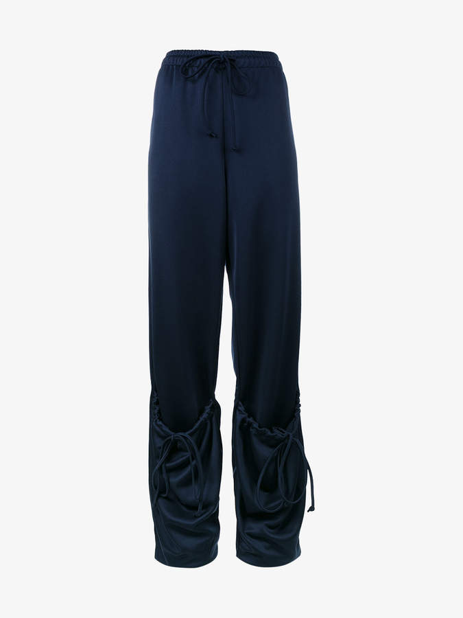 high-rise trackpants