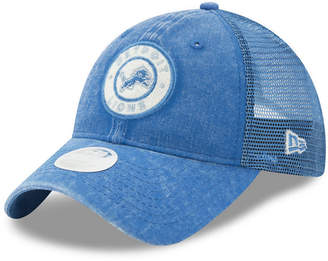 New Era Women's Detroit Lions Perfect Patch 9TWENTY Snapback Cap