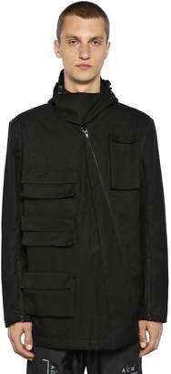 A-Cold-Wall* Convertible Cargo Cotton Jacket
