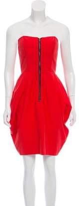 Hayden Harnett Strapless Mini Dress
