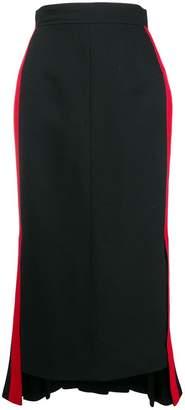 Alexander McQueen Military midi skirt
