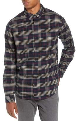 Rails Forrest Slim Fit Plaid Flannel Sport Shirt