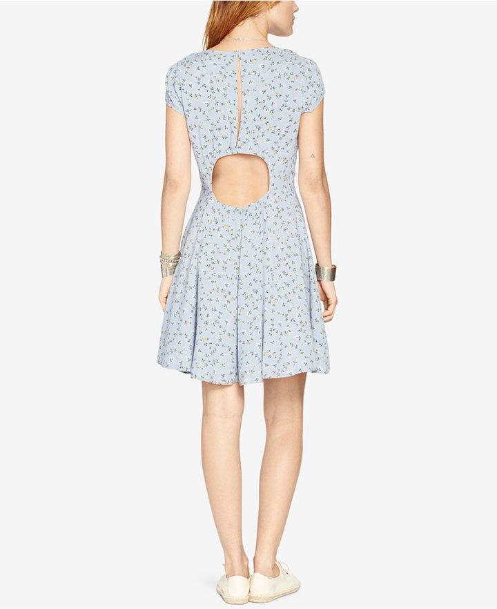 Denim & Supply Ralph Lauren Floral-Print V-Neck Dress 2