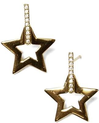 Jules Smith Designs Open Star Drop Earrings