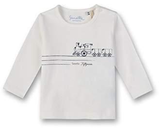 Sanetta Baby Boys Longsleeve T-Shirt, (Sky Blue 50145.0)