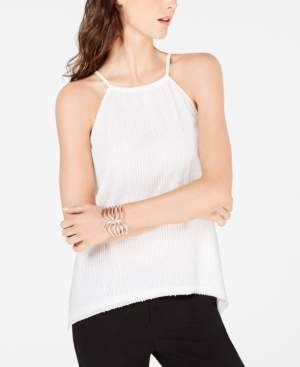 INC International Concepts I.n.c. Sequin Halter Top, Created for Macy's