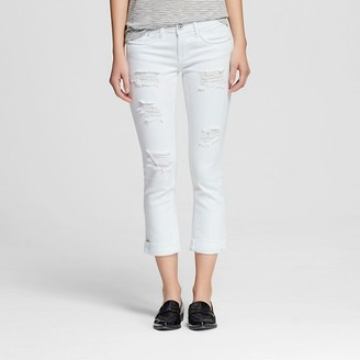 Dollhouse Women's' Mid Rise Rolled Crop Jeans-Dollhouse (Juniors') $29.99 thestylecure.com