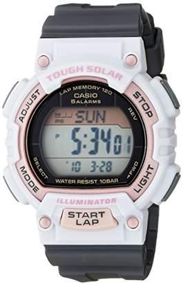 Casio Women's STL-S300H-4ACF Solar Runner Sport Watch