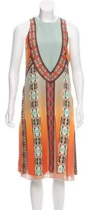 Etro Printed Silk Shift Dress