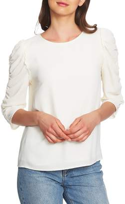 1 STATE 1.STATE Ruched Sleeve Blouse