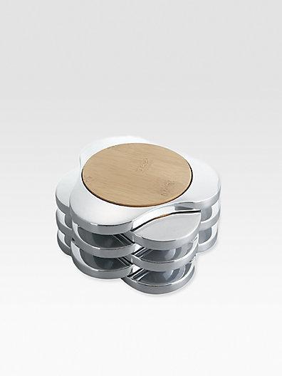 Nambe Zen Coasters/Set of 6