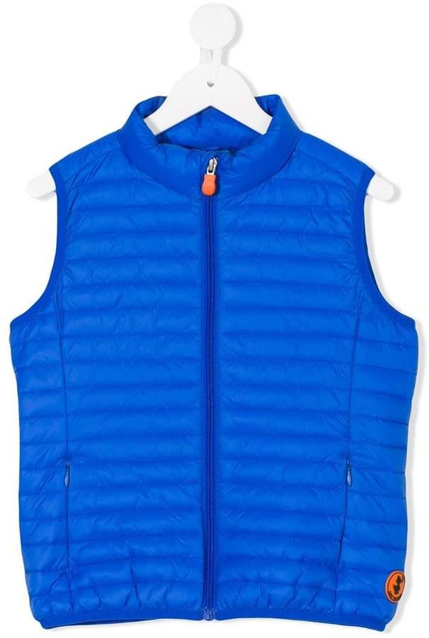 Save The Duck Kids sleeveless padded jacket