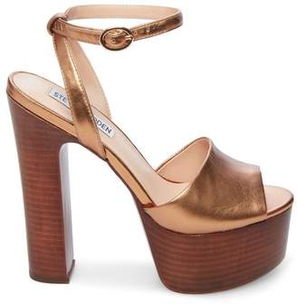 Steve Madden Stevemadden YOUTHFUL BRONZE LEATHER