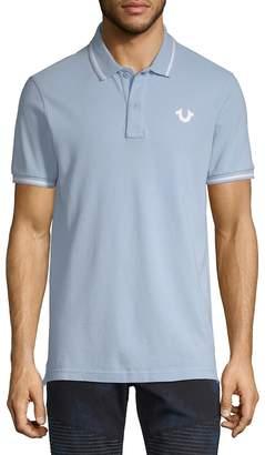 True Religion Men's Signature Print Polo Shirt