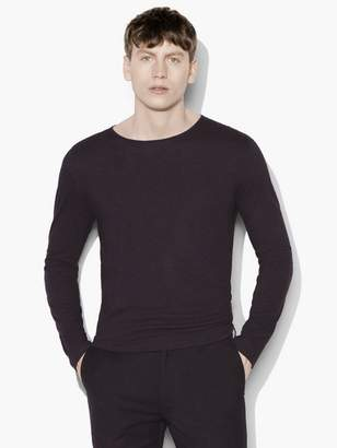 John Varvatos Long Sleeve Crew Neck