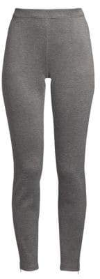 St. John Birdseye Double Knit Leggings