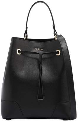 Furla Stacy Saffiano Leather Bucket Bag