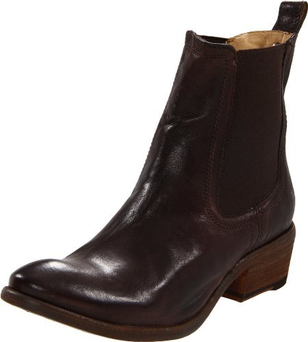 Frye Women's Carson Chelsea Ankle Boot,Dark Brown,6 M US