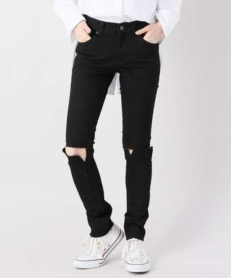 Cheap Monday (チープ マンデー) - JOINT WORKS CHEAPMONDAY tight ripped black