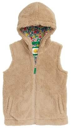 Boden Mini Cozy Hooded Vest