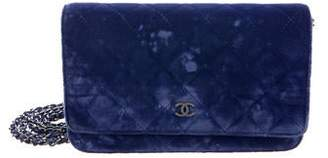 Chanel Velvet Wallet On Chain